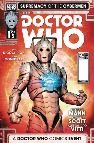 Doctor Who: Supremacy of the Cybermen #1 (Listran Cover)
