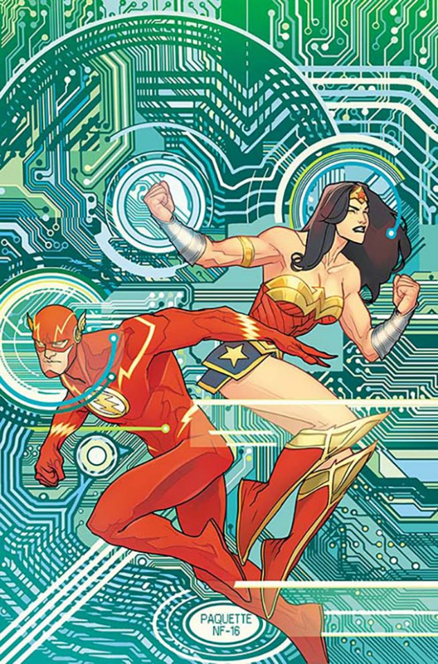 Justice League #9 (Variant Cover)
