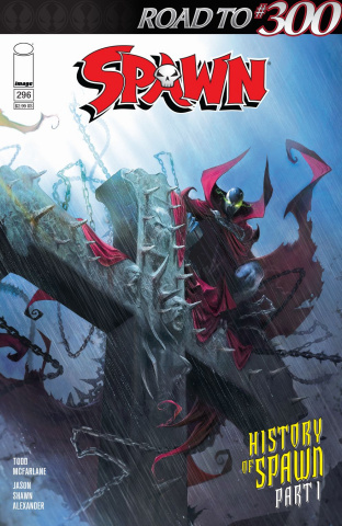 Spawn #296 (Mattina Cover)