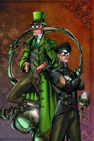 Legenderry: Green Hornet #1 (Benitez Virgin Cover)