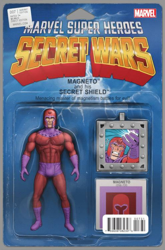 Secret Wars #7 (Action Figure Cover)