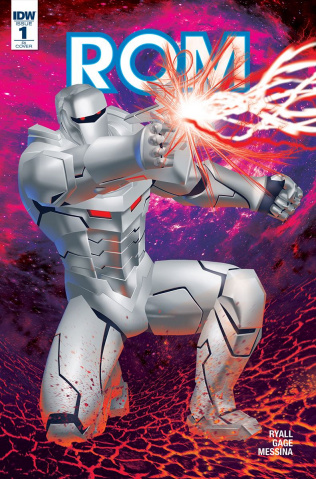ROM #1 (50 Copy Cover)