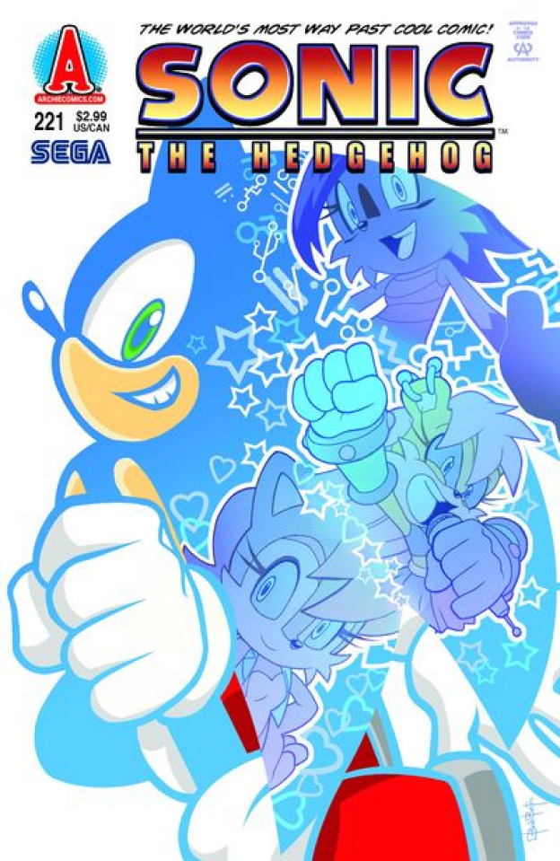 Sonic the Hedgehog #221