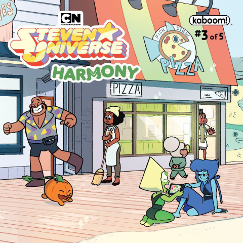 Steven Universe: Harmony #3 (Subscription Ganucheau Cover)