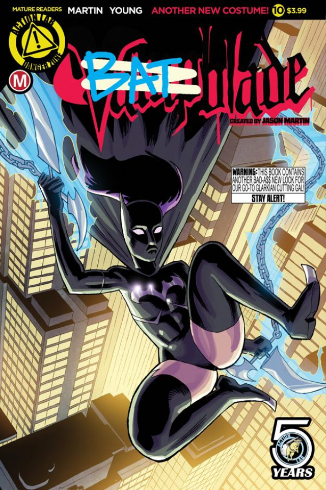Vampblade #10 (Young Cover)