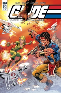 G.I. Joe: A Real American Hero #243 (Royle Cover)