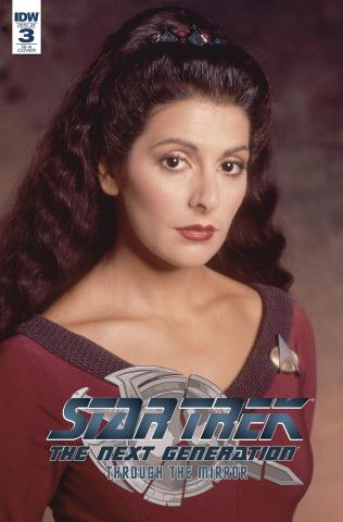 Star Trek: The Next Generation - Through the Mirror #3 (10 Copy Cover)