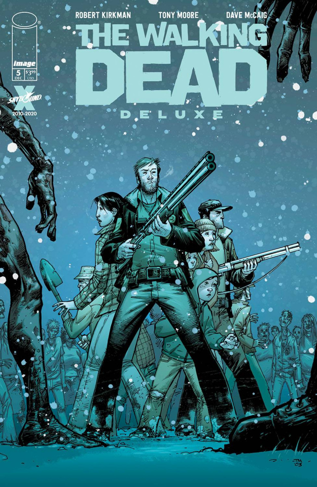 The Walking Dead Deluxe #5 (Moore & McCaig Cover)