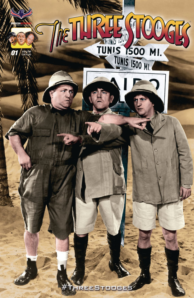 The Three Stooges: Stooge-A-Palooza (Photo Cover)