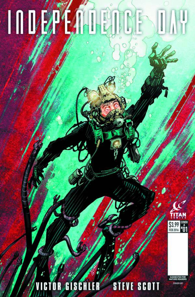 Independence Day #1 (McCrea Cover)