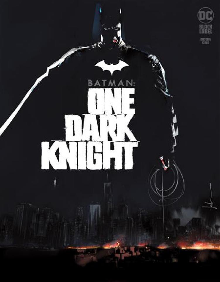 Batman: One Dark Knight #1 (Jock Cover)