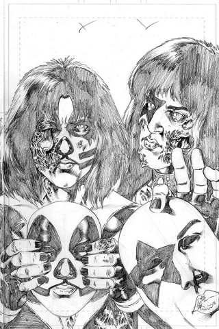 KISS: Zombies #5 (11 Copy Buchemi Pencils Cover)