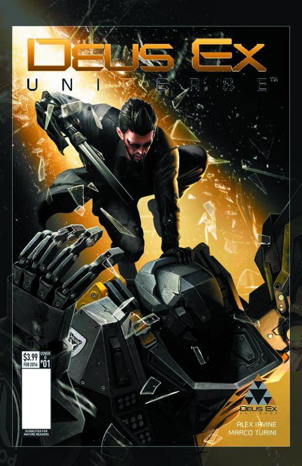 Deus Ex #2 (Concept Design Cover)
