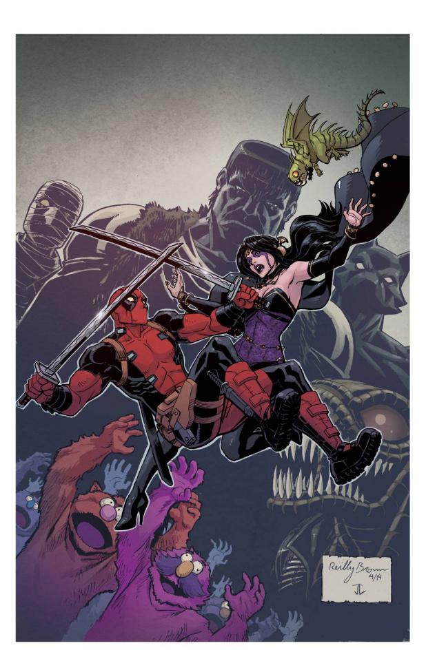Deadpool: Dracula's Gauntlet #5