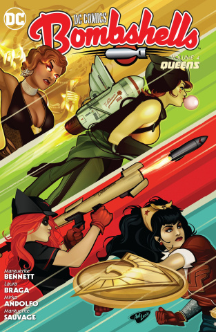 DC Comics Bombshells Vol. 4: Queens