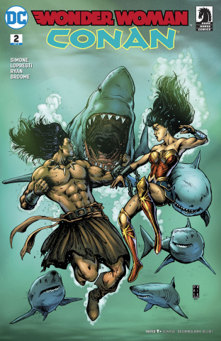 Wonder Woman / Conan #2