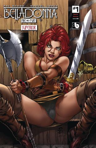 Belladonna: Fire and Fury #1 (Superior Seductive Cover)