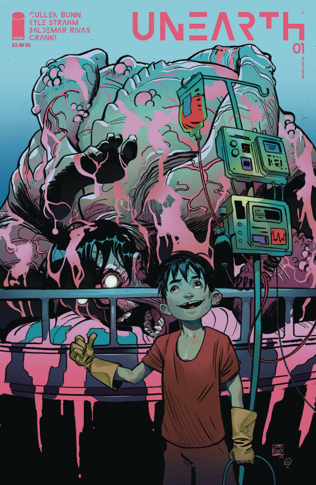 Unearth #1 (2nd Printing)