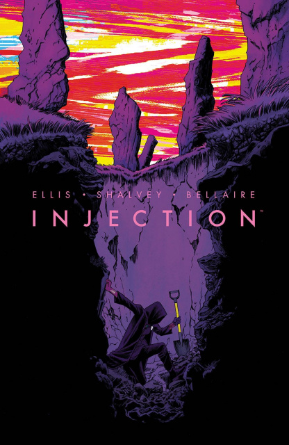 Injection #12 (Shalvey & Bellaire Cover)