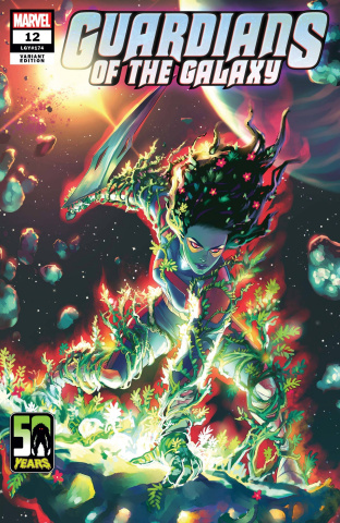 Guardians of the Galaxy #12 (Hetrick Gamora-Thing Cover)
