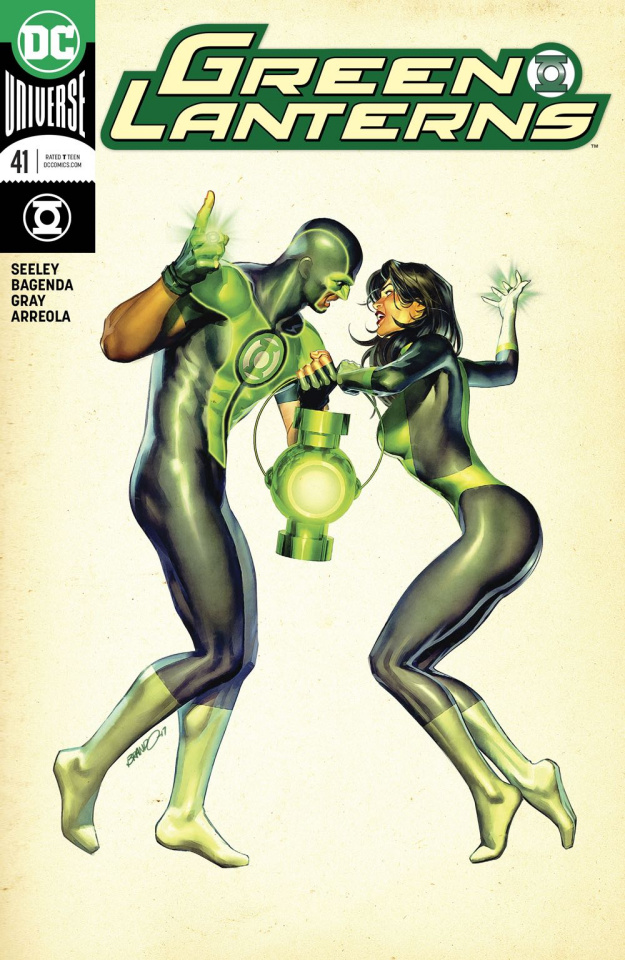 Green Lanterns #41 (Variant Cover)
