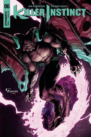 Killer Instinct #6 (Adams Subscription Cover)