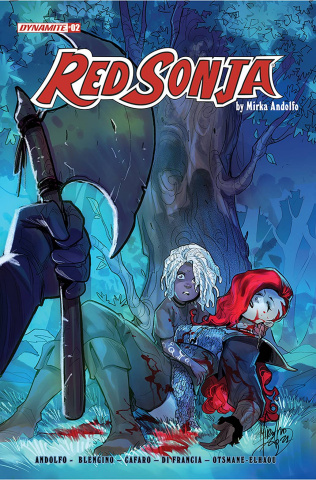 Red Sonja #2 (Andolfo Cover)