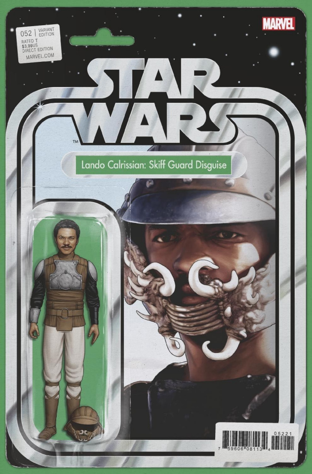 Star Wars #52 (Christopher Action Figure Cover)