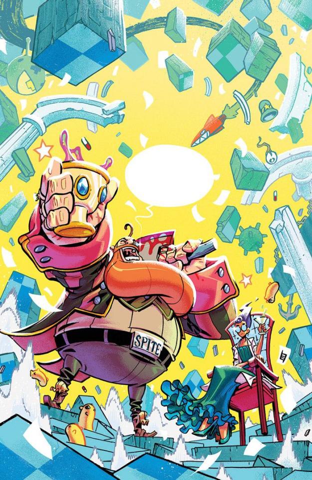 The Ludocrats #1 (April Fools Cover)