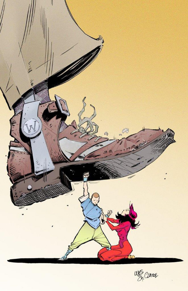 Fu Jitsu #1 (Wesley St. Claire Cover)
