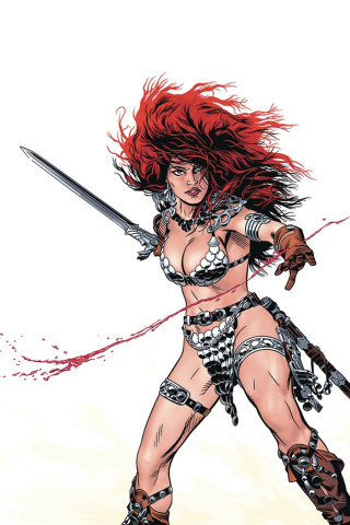Red Sonja: The Price of Blood #2 (Golden Virgin Cover)