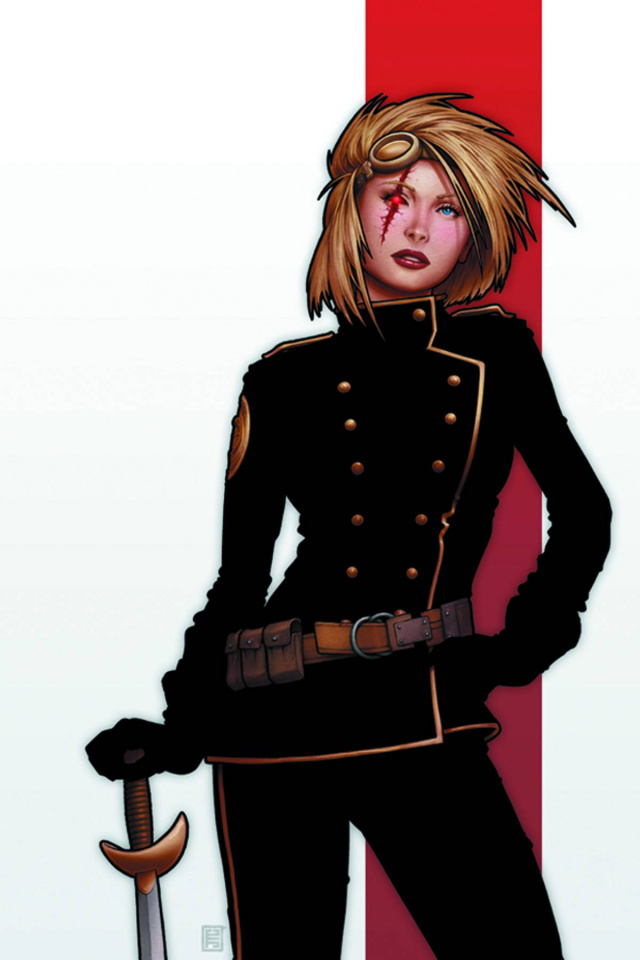 Cyber Force #6 (Christopher Cover)