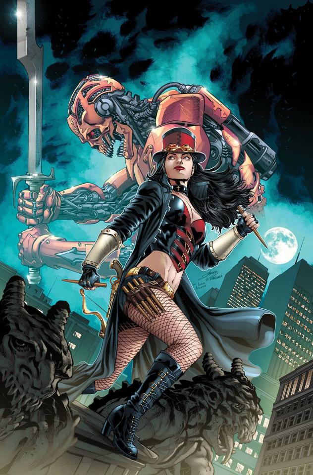 Van Helsing: Steampunk (Vitorino Cover)