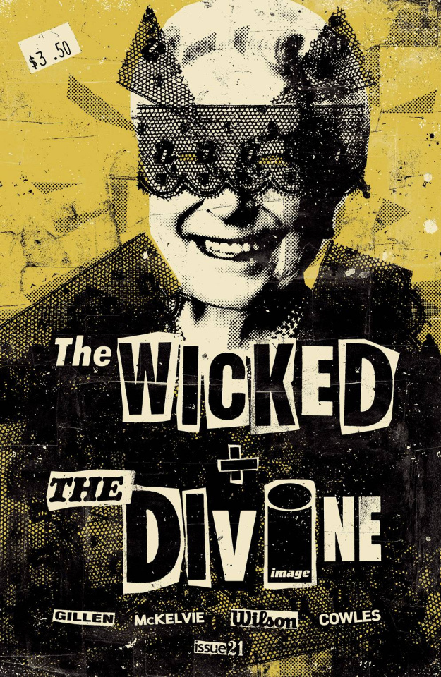 The Wicked + The Divine #21 (Aja Cover)