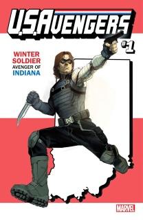 U.S.Avengers #1 (Reis Indiana State Cover)