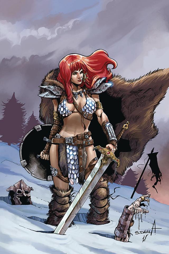Red Sonja: Birth of the She-Devil #1 (10 Copy Davila Virgin Cover)