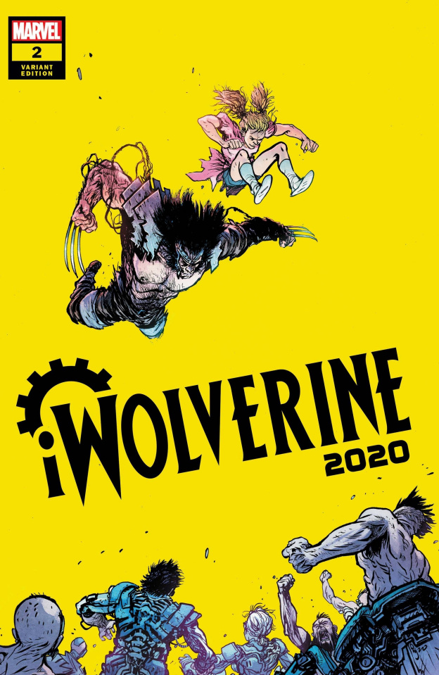 iWolverine 2020 #2 (Johnson Cover)