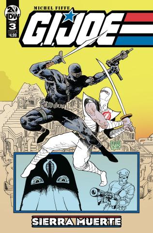 G.I. Joe: Sierra Muerte #3 (Fiffe Triptych Cover)