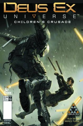 Deus Ex #1 (Concept Design Cover)