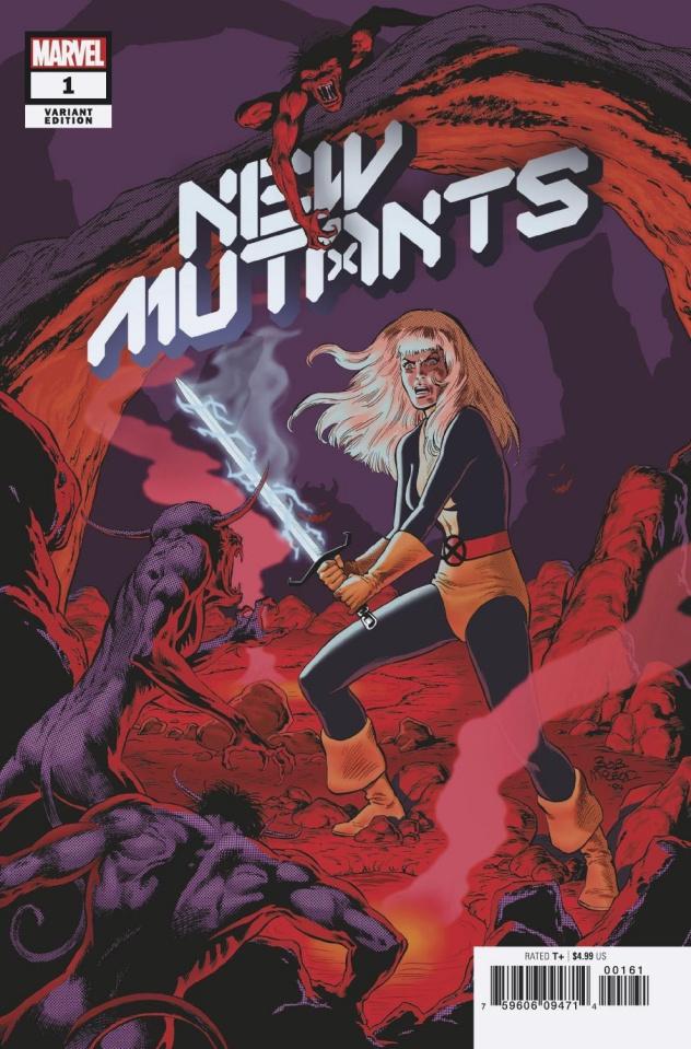 New Mutants #1 (McLeod Hidden Gem Cover)