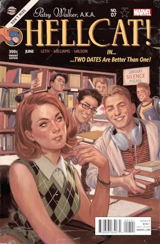 Patsy Walker, a.k.a. Hellcat #7 (Classic Cover)