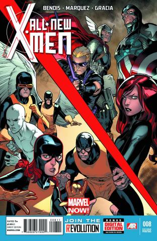 All-New X-Men #8 (2nd Printing)