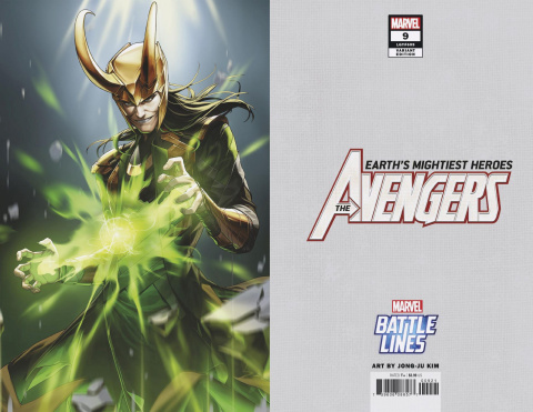 Avengers #9 (Sujin Jo Marvel Battle Lines Cover)