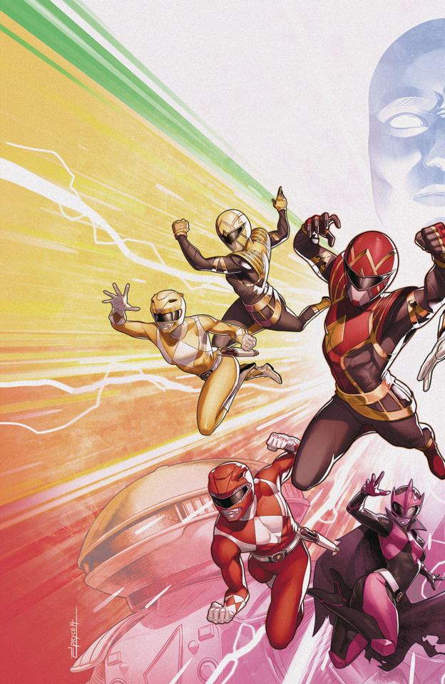 Mighty Morphin' Power Rangers #50 (Campbell Cover)