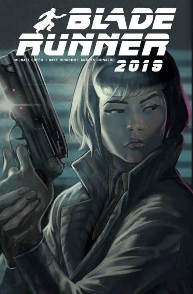 Blade Runner 2019 #12 (Dagnino Cover)