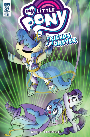 My Little Pony: Friends Forever #37 (Subscription Cover)
