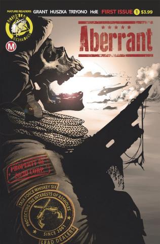 Aberrant #1 (Huszka Cover)