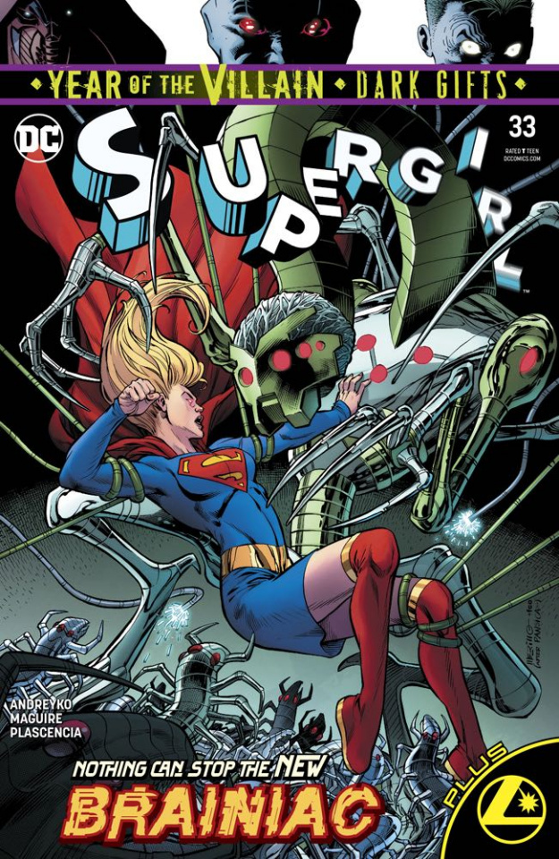 Supergirl #33 (Dark Gifts Cover)