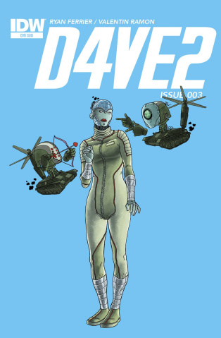 D4VE2 #3 (Subscription Cover)