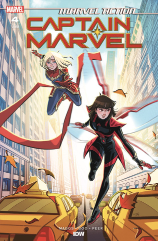 Marvel Action: Captain Marvel #4 (Boo Cover)